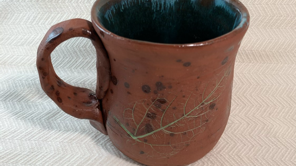Mug with Begonia Vine Leaf