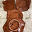 Thumbnail: Wood Texture Appetizer Plate