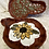 Thumbnail: Large Spoon Rest with Sunflower