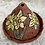 Thumbnail: Small Cone Incense Burner with Daffodils
