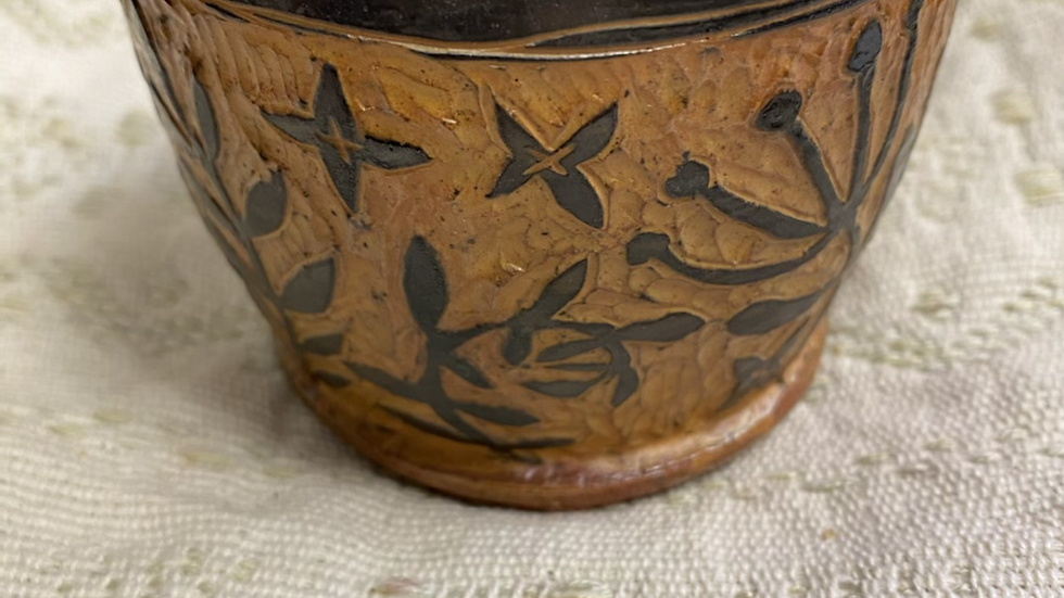 Cup with Foliage