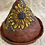 Thumbnail: Large Cone Incense Burner with Sunflower