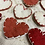 Thumbnail: Red Wool Heart Pin
