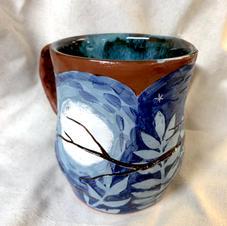 Snowy Owl custom mug