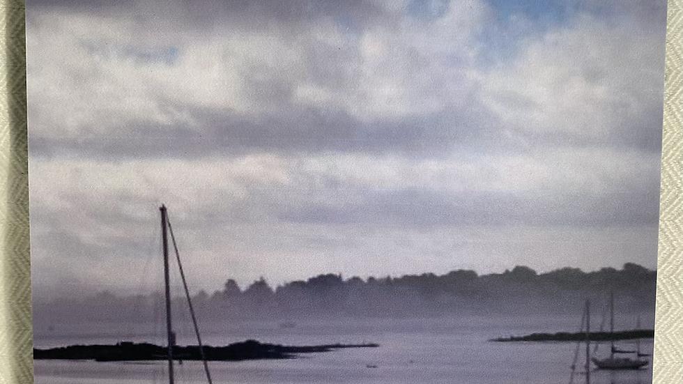 """8x8 Foam Tile """"Sail into the Mist"""""""