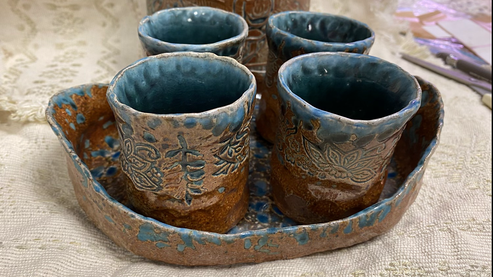 Cups withTray