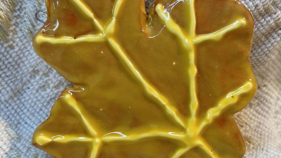 Ornament, Golden Yellow Maple