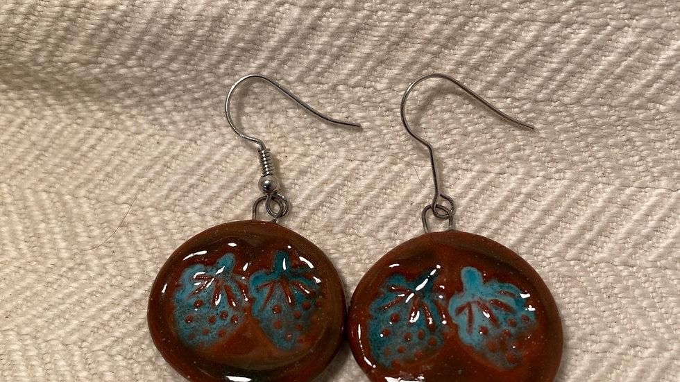 Earrings with Berries