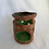 Thumbnail: Stamped green flowers wax warmer