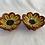 Thumbnail: Ring Dish,Yellow Sunflower