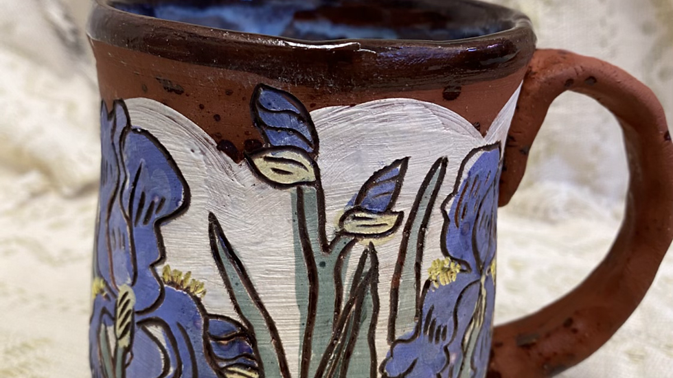 Mug with Iris