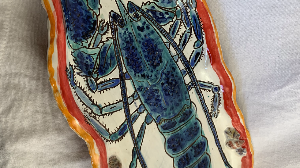 Platter with Blue Lobster