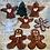 Thumbnail: Angel Ornament Glazed