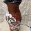 Thumbnail: Vase with snake, mulberries, roses & columbines
