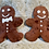 Thumbnail: Ginger Man Ornament, with Tie