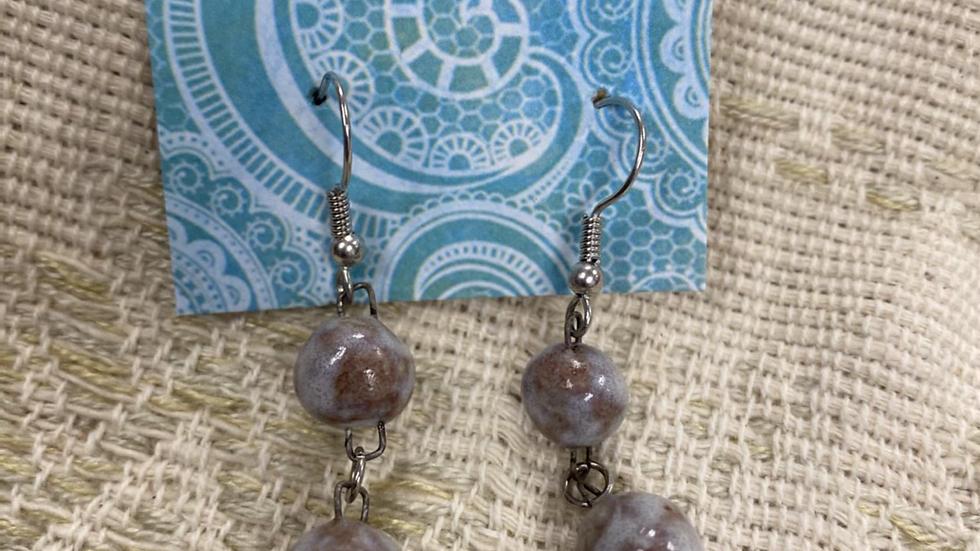Double Bead Earring