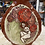 Thumbnail: Vase with Woman, flowers and coyote skull