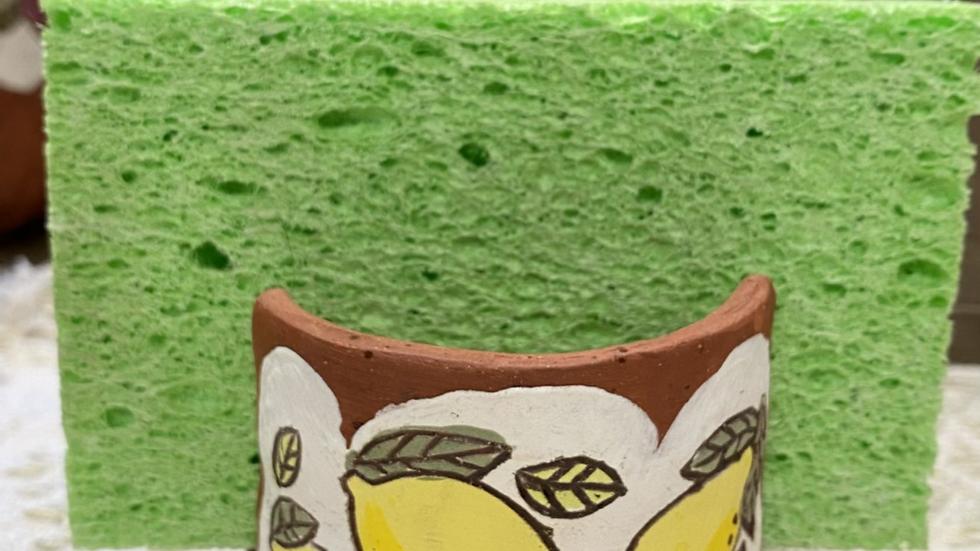 Sponge Holder with Lemons