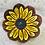 Thumbnail: Ring Dish, Sunflower