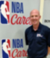 Mark Adams Coaches at NBA Cares Clinic