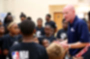 Mark Adams at NBA Cares Clinic