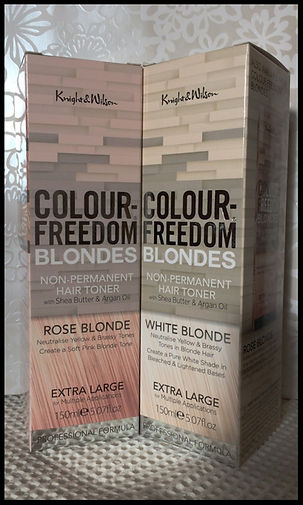 Knight and Wilson Colour Freedom Blondes Review