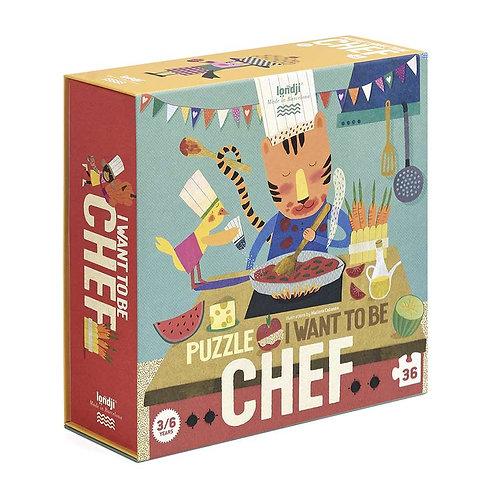 Παζλ  I want to be Chef