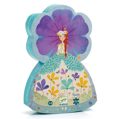 Djeco Παζλ σε σχηματικό κουτί 36 τεμ. 'Πριγκίπισσα της Άνοιξης'