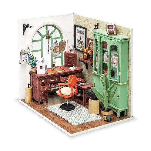 Μινιατούρα σπιτιού Robotime Jimmy's Studio