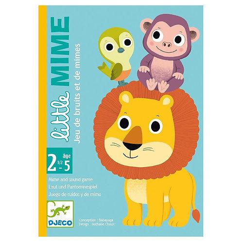 Djeco Επιτραπέζιο καρτών μίμησης - σειρά Little 'Ζωάκια'
