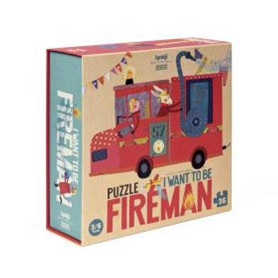 Παζλ I want to be fireman