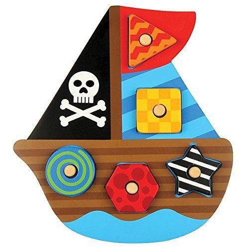 Ξυλινο Puzzle, Pirate