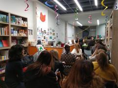 Εκδήλωση : Τα βιβλία κάνουν καλό στα μωρά της M. Bonnafe  Ομιλητές : Γρηγόρης Αμπατζόγλου (Καθηγητής Παιδοψυχιατρικής ΑΠΘ) Μαρία Μπούρη (παιδίατρος) ( εκδ. ΣΥΜΕΠΕ -Σύλλογος Μέριμνας Παιδιού και Εφήβου)