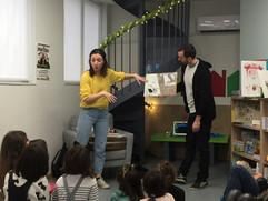Εκδήλωση : Φαρφανέλα Ελένη Βλάχου, Κωνσταντίνος Δαλαμάγκας (εκδόσεις Πατάκης)