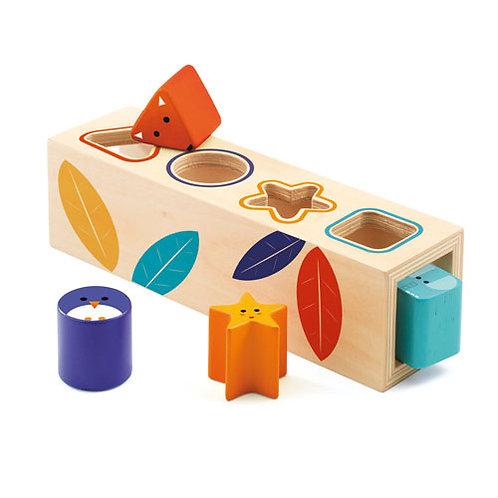 Djeco εκπαιδευτικό παιχνίδι ταξινόμησης 'Χρώματα - σχήματα'