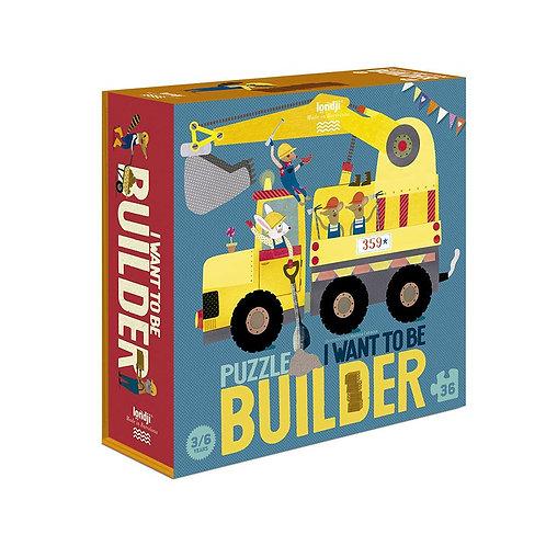 Παζλ I want to be builder