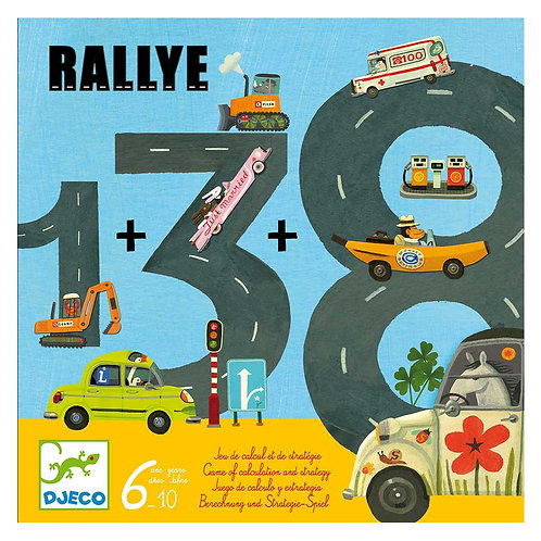 Djeco Επιτραπέζιο 'Rallye'