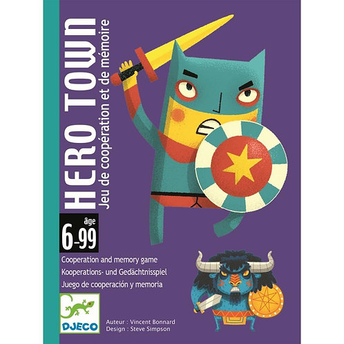 Djeco Επιτραπέζιο καρτών 'Hero Town'