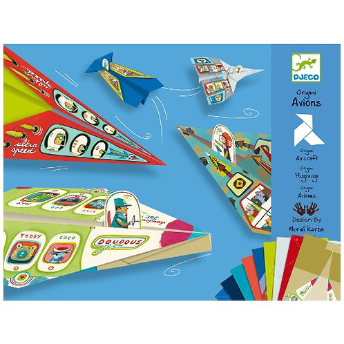 Djeco Οριγκάμι κατασκευή 'Αεροπλάνα'