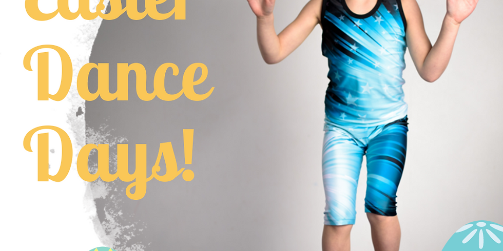 Easter Dance Days 31st March & 2nd April 2020 (5-12 yrs)
