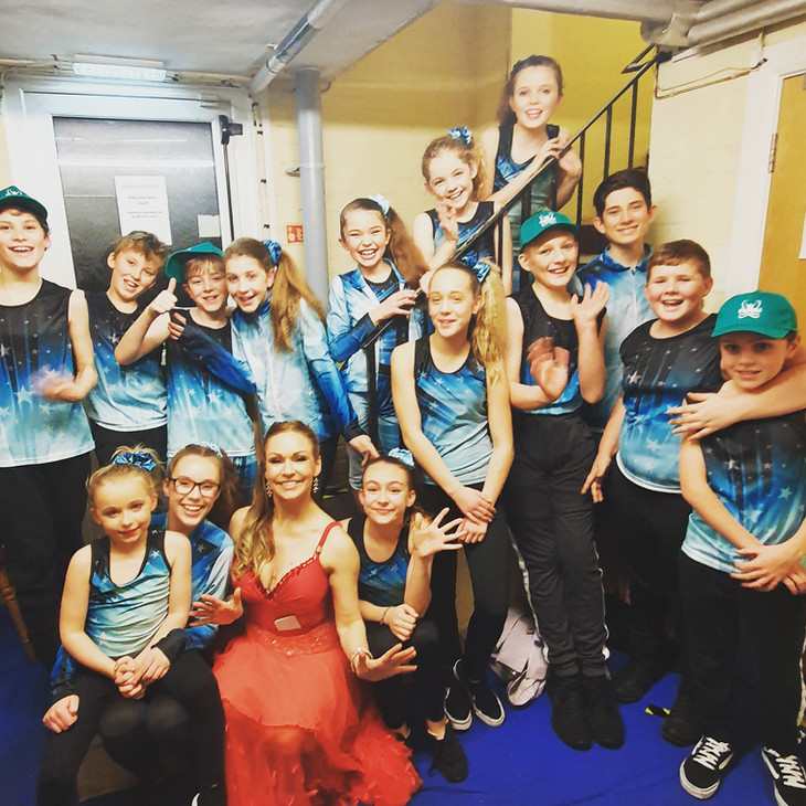 Our dancers had an awesome time performing with the Strictly Come Dancing Stars!