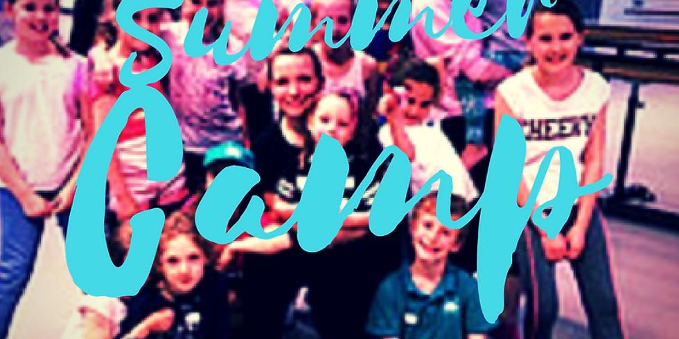 Summer Dance Camp 5-12 yrs 20-24th August 2018