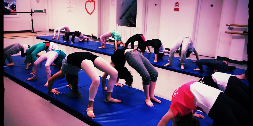 Acro Intensive Level 1 & Beginners 5yrs + £25