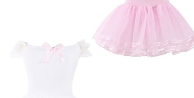 Ballet dress with frill