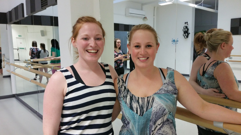 Meet a couple of our adult dance class attendees...