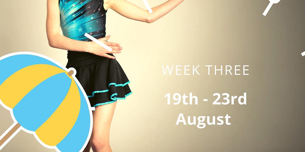 Summer Dance Camp 5-12 yrs 19th -  23rd August 2019