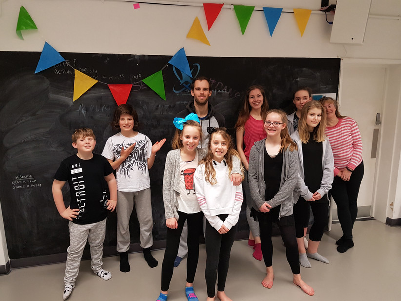 Selected students from DanSci Dance Studio, Exeter, enjoy professional dance experience with multi-a