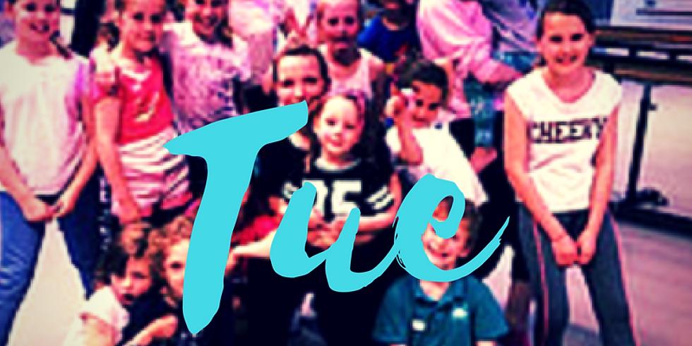 Summer Dance Camp 5-12 yrs Tue 21st August