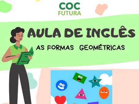 Formas Geométricas em inglês-Educação Infantil