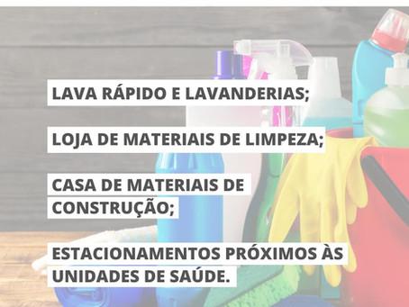 NOVAS MEDIDAS - Liberação parcial de abertura de comércios
